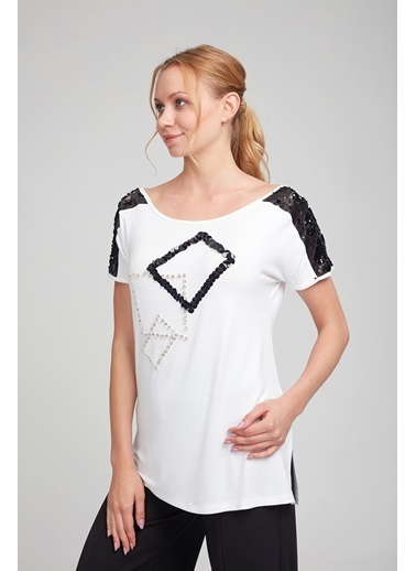 WHIP Design Bluz Beyaz